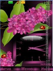 Lilac color es el tema de pantalla