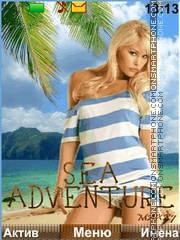 Sea Adventures Theme-Screenshot