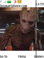 Guardans of the Galaxy Groot es el tema de pantalla