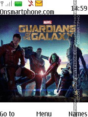 Guardans of the Galaxy es el tema de pantalla