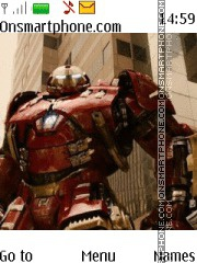 Avengers Hulkbuster theme screenshot