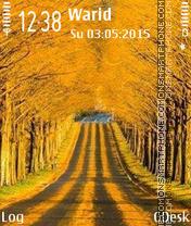 Yellow path es el tema de pantalla
