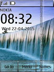 Victoria Waterfall es el tema de pantalla