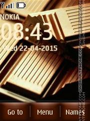 Chocolate 03 es el tema de pantalla