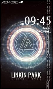 Linkin Park 14 tema screenshot