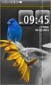 Blue Bird 02 tema screenshot