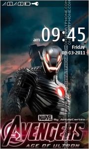 Avengers Age Of Ultron es el tema de pantalla