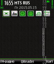Green Style es el tema de pantalla
