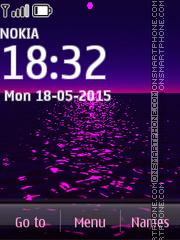 Purple Sunset 02 es el tema de pantalla