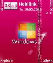 Window 7M es el tema de pantalla