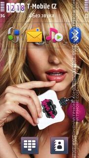 Candice Swanepoel 02 es el tema de pantalla
