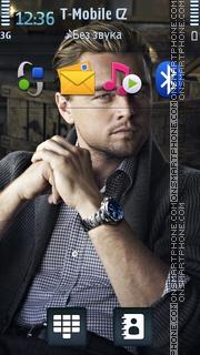 Leonardo DiCaprio 01 es el tema de pantalla