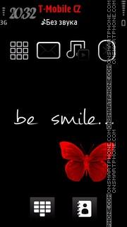 Be Smile es el tema de pantalla