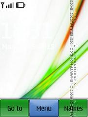 Скриншот темы Vista Abstract