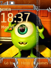 Monsters Inc 01 es el tema de pantalla
