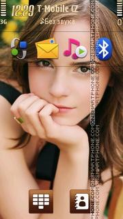Emma Watson Portrait es el tema de pantalla
