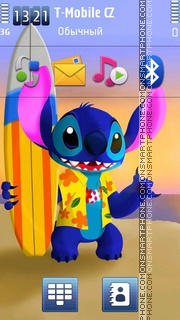 Stitch theme screenshot