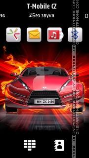 Fire Car 08 es el tema de pantalla