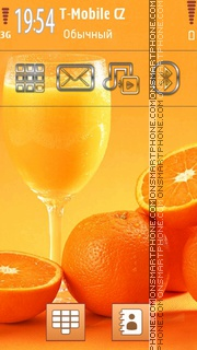 Oranges and Juice es el tema de pantalla