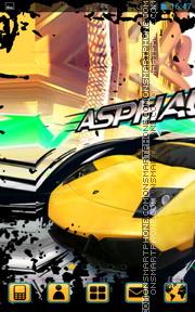 Asphalt Urban GT es el tema de pantalla