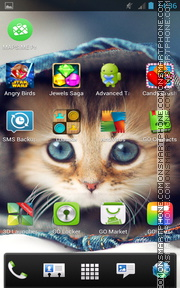 Kitten 16 theme screenshot