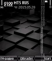 Black Cube es el tema de pantalla