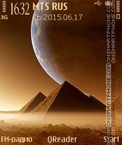 Pyramids-2 es el tema de pantalla