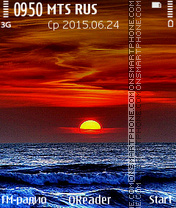 Sea-Sunset theme screenshot