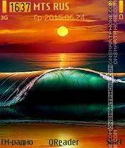Sea Sunset theme screenshot