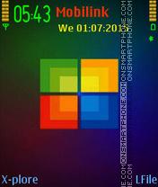 Window mc theme screenshot