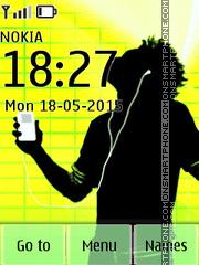 iPod Music theme screenshot