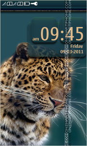 Leopard 08 theme screenshot