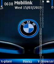 Bmw logo es el tema de pantalla