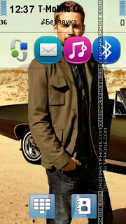 Paul Walker 03 theme screenshot