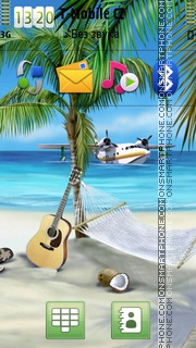 Paradise 12 tema screenshot