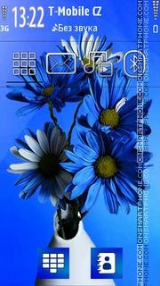Скриншот темы Flowers 05