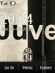 FC Juventus 02 tema screenshot