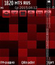 Red Mosaic es el tema de pantalla