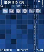 Blue Mosaic es el tema de pantalla