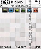 White Mosaic es el tema de pantalla