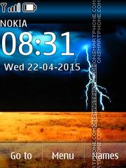 Nature Strom theme screenshot
