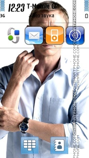 Daniel Craig 01 theme screenshot