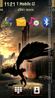 Angel 30 theme screenshot