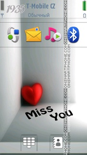 Miss You 13 tema screenshot