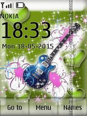 Guitar Love theme screenshot