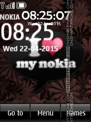 I Love Nokia 01 Theme-Screenshot