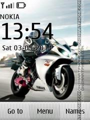Honda CBR 601 es el tema de pantalla