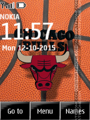 Chicago Bulls 07 tema screenshot