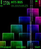 Step-Colour es el tema de pantalla