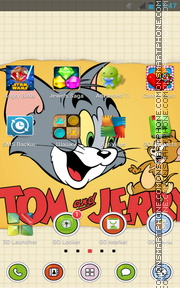 Tom and Jerry 12 es el tema de pantalla